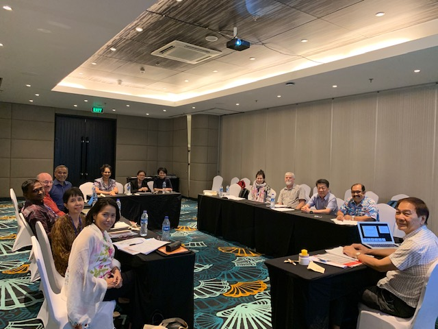 Fourth ACCA Board Meeting in Bali on 19 Oct 2019.