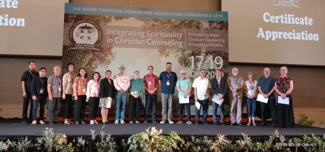 Line-up of the plenary and workshop speakers at the Bali Conference.