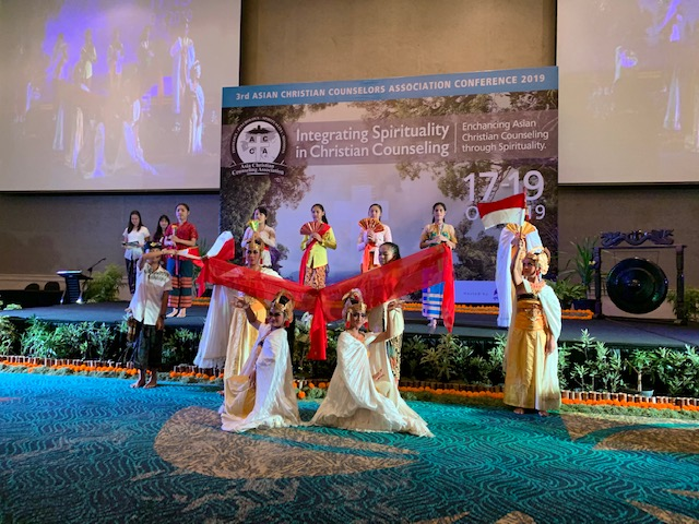 Opening dance presentation of the ACCA Third Asian Christian Counseling Conference in Bali, Indonesia, on 17-19 Oct 2019.